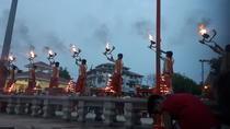 Evening Arti Ceremony on the Bank of Ganges in Varanasi, Varanasi, Cultural Tours