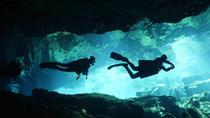 Scuba dive in the mystical cenotes - double cavern diving package with lunch, Playa del Carmen, ...