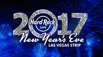 New Year's Eve at the Hard Rock Cafe on the Las Vegas Strip, Las Vegas