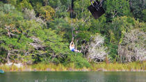 Private Tour: Jungle Adventure at Punta Laguna Nature Reserve , Cancun, Ziplines