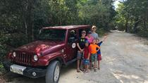 Mayan Jungle Jeep to Jade Cavern Cenote and Snorkel Adventure, Cozumel, 4WD, ATV & Off-Road Tours