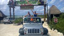 Private Jeep Excursion in Cozumel with Lunch and Snorkeling, Cozumel, Private Sightseeing Tours