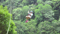 Borinquen Combo Horseback Riding and Canopy Tour, Playa Hermosa
