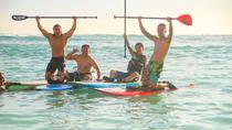 Private Stand-Up Paddle Boarding Lesson on Waikiki Beach, Hawaii, Surfing Lessons