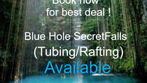 Blue Hole Falls and (Tubing or rafting) Jamaica shore Excursions and tours, Montego Bay, Tubing