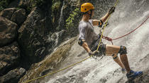 Waterfall Rappelling and Zipline Adventure at Bocawina Rainforest, Dangriga, Climbing