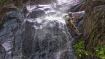 Waterfall Rappelling at Bocawina Rainforest , Dangriga, Climbing