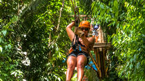 Cave Tubing and Zip line Adventure from Placencia, Belize City, Ziplines
