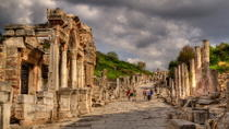 Full-Day Tour of Ephesus Ancitent City, House of Virgin Mary and Temple of Artemis from Kusadasi ...