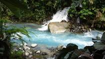 Blue Volcanic River Waterfalls and Hot Springs Mud Bath Adventure in Rincon de la Vieja from La...