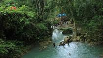 Dunn's River Falls, White River Tubing and Blue Hole Tour plus Shopping, Ocho Rios