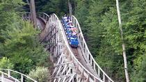 Thunderbolt Mountain Coaster with Bridge of Flowers and Yankee Candle, Boston, Day Trips