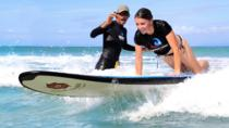 Professional Surfing Lessons at La Pared Beach in Luquillo, San Juan