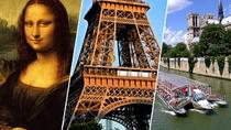 Skip the Line Eiffel Tower 2nd Level Tour and Louvre Museum and Cruise, Paris, Audio Guided Tours