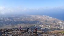 Hike Pyrgos to Ancient Thira, Santorini, Hiking & Camping