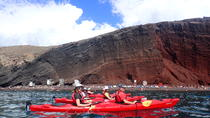 Sea Kayaking Tour in Santorini from Mesa Pigadia, Santorini, null