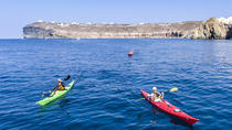 Sea Kayaking Tour in Santorini from Mesa Pigadia, Santorini, Kayaking & Canoeing