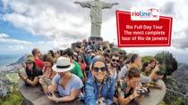 One Day Rio - Christ the Redeemer by Train, Sugar Loaf Cable Car and BBQ Lunch, Rio de Janeiro,...