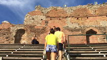 Taormina Walking Tour and Wine Tasting Including Skip-the-line Ticket to the Greek Theatre, Taormina