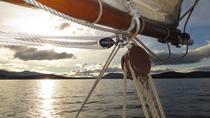 Hobart Summer Twilight Harbor Cruise on the SV Rhona H Tall Ship, Hobart, null