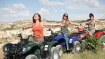 Quad Safari through Rose Sword and Love Valleys, Cappadocia, 4WD, ATV & Off-Road Tours