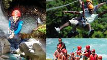 Rafting Canyoning and Zipline Adventure from Side, Side, 4WD, ATV & Off-Road Tours