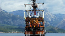 Viking Boat Tour on the Beautiful Bays of Kemer, Kemer, Lunch Cruises