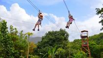 Zipline Canopy Adventure Tour from San Juan, San Juan, Ziplines