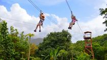 Zipline Canopy and El Yunque Rainforest Hiking Combo Tour, San Juan, Ziplines