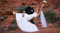 Destination Wedding: Red Rock Canyon Ceremony, Las Vegas, Balloon Rides
