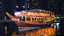 Dhow Cruise along the Marina with Dinner from Dubai , Dubai, Dhow Cruises