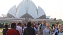 Full Day Old and New Delhi Capital City Tour Including India Gate, Red Fort and Lotus Temple, New...