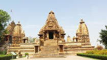Private 3-Hour Tour with Light and Sound Show at Khajuraho Temples and Dinner, Khajuraho, Night...