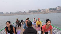 Private Morning Guided Boat Ride with Yoga and Transfer, Varanasi, Yoga Classes