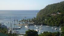 St Lucia Ziplining, Beach and Rum Tasting Tour, St Lucia, Half-day Tours