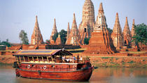 Full-Day Tour to Ayuthaya from Bangkok including Lunch Cruise Return Trip, Bangkok, null