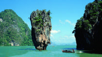 Phang Nga Bay Island Full-Day Sightseeing Tour including Lunch from Phuket, Phuket, Jet Boats & ...