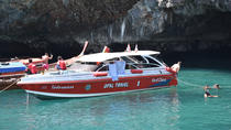 4 Island Snorkel Tour to Emerald Cave by Speed Boat from Koh Lanta, Ko Lanta, Day Cruises