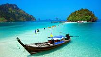 4 Island Tour by Traditional Longtail Boat from Krabi, Krabi, Day Cruises