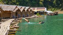 Khao Sok Jungle Safari with Raft House Adventure on Cheow Larn Lake from Krabi, Thailand, Day Trips