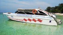 Koh Ngai to Koh Kradan by Satun Pakbara Speed Boat, Southern Thailand and Andaman Coast, Jet Boats...