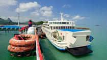 Koh Phangan to Bangkok by Raja Ferry and Thai Sriram Coach, Gulf of Thailand, Ferry Services