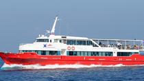 Koh Phangan to Nakhon Si Thammarat Airport by Ferry and Minivan, Gulf of Thailand, Catamaran...