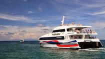Koh Phangan to Surat Thani Airport by Lomprayah High Speed Catamaran and Shared Minivan, Koh Samui,...