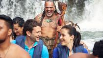Haruru Falls and Waitangi River Tour on a Traditional Maori Waka with Guide, Bay of Islands