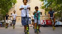 Gràcia Neighborhood Scooter Family Tour in Barcelona, Barcelona, Family Friendly Tours & ...