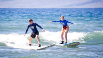 Private Surf Lesson for Two near Lahaina, Maui, Surfing Lessons