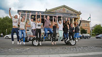 Private Tour in Budapest: Try the famous Hungarian Real Escape Game and a Beerbike Rental, ...