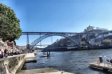 Excursão privada em Porto com degustação de vinho e cruzeiro fluvial...