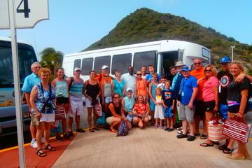 Walexcursie Sint Maarten: sightseeingtour van het eiland met winkelen